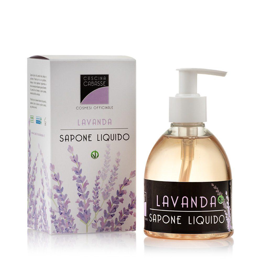 Lavanda Sapone Liquido con olio essenziale di Lavanda Vera - Cascina Cabasse